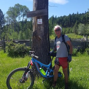 Nicola Valley Mountain Biker