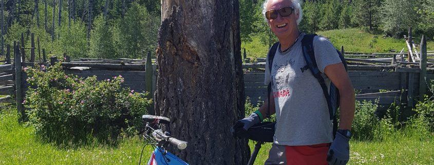 Nicola Valley Mountain Biker