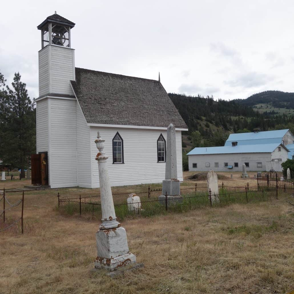 Historic Murray Church - Experience Nicola Valley