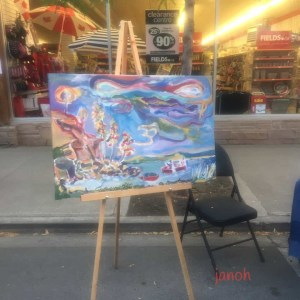 Street Market Art