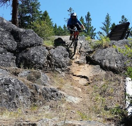 Merritt bc canada things to do-rock rollover Ridge trail