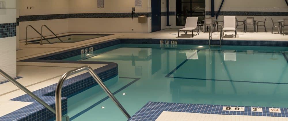Best Western in Merritt BC pool