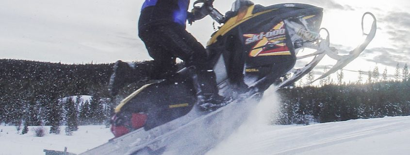 snowmobiling airtime winter sports