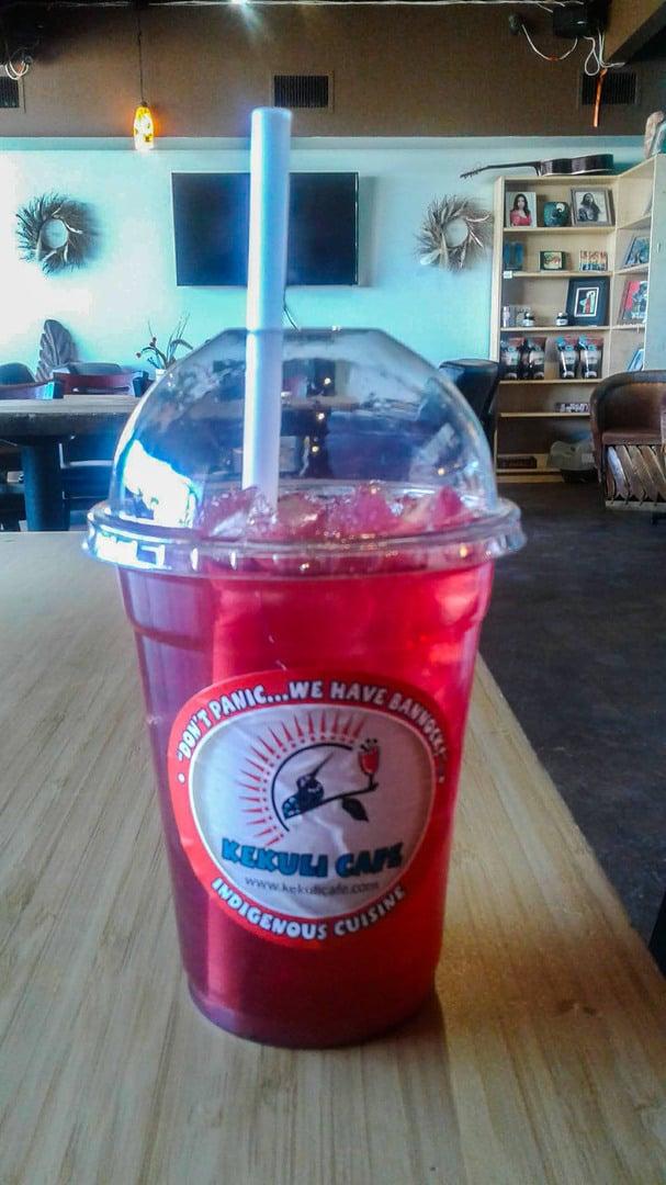 Kekuli Cafe saskatoon ice tea