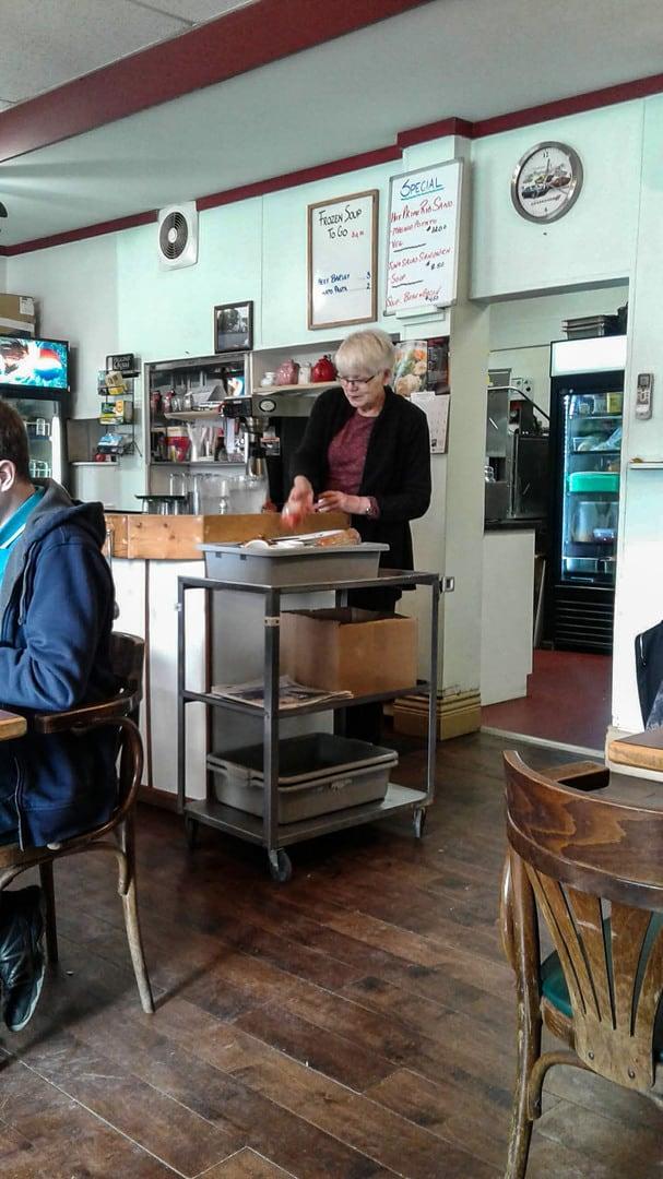 Merritt, BC, Lynda's Cafe