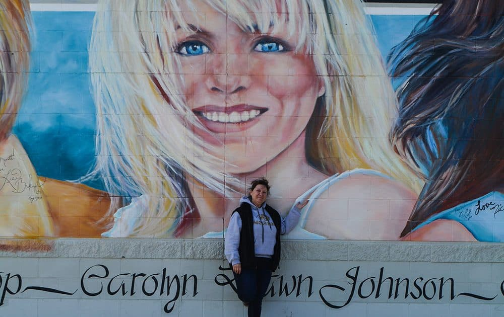 country music mural Carolyn Dawn Johnson Merritt BC