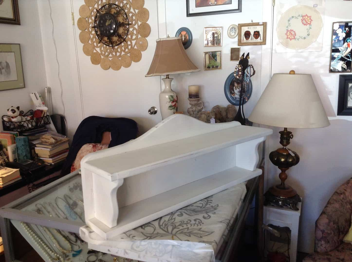Merritt, B.B., seniors repurposing furniture