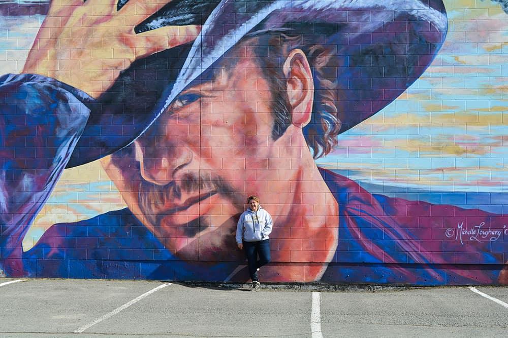 Merritt BC Murals Downtown Merritt Tim McGraw