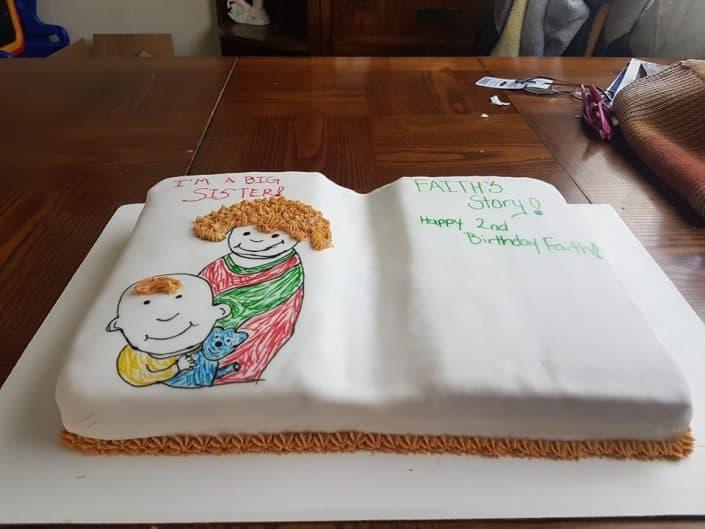cutome birthday cake