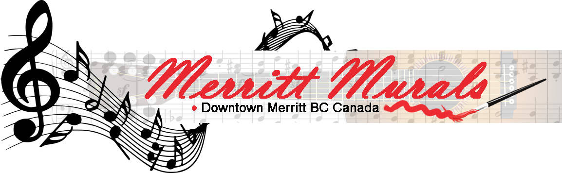 Merritt BC Canada Murals