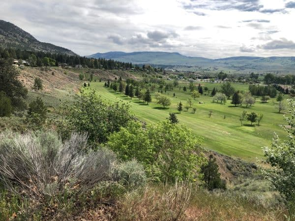 View of Golf Course and Grasslands