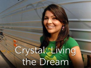 Crystal Living The Dream