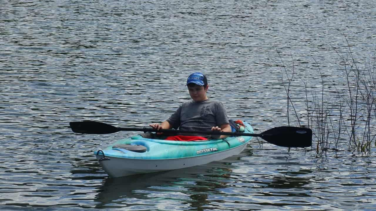 Merritt kayaking
