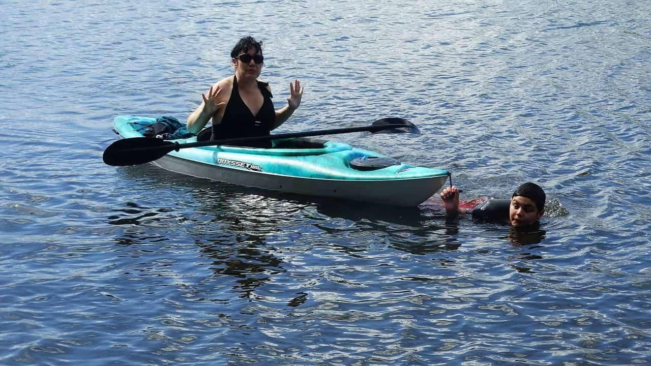 Kayaking in Merritt BC