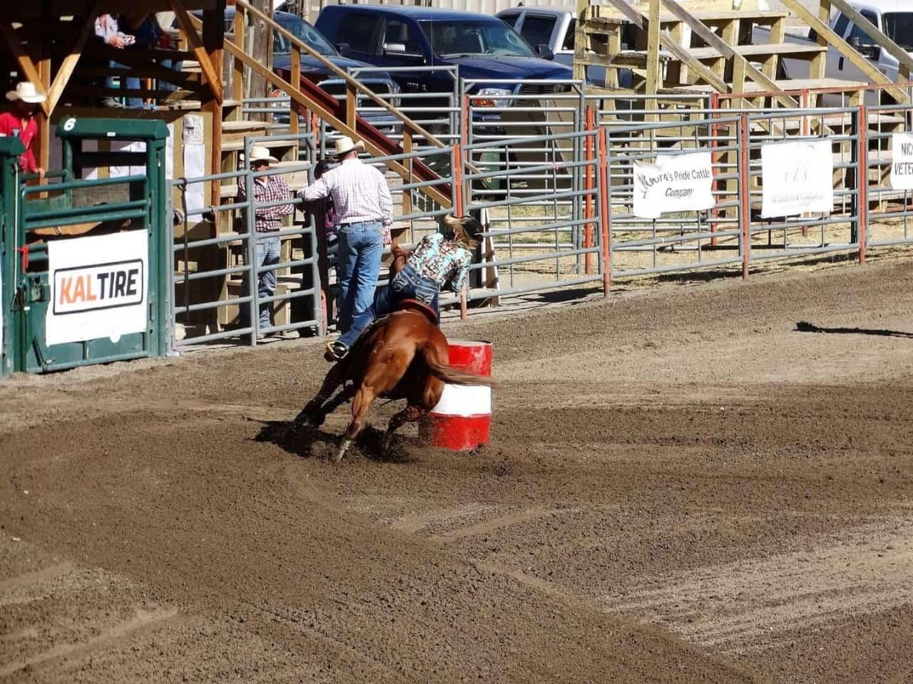 Nicola Valley Pro Rodeo Merritt BC.