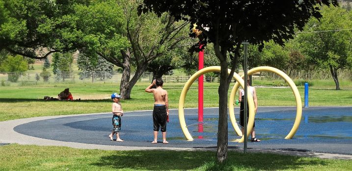 Rotary Lake Park in Merritt BC
