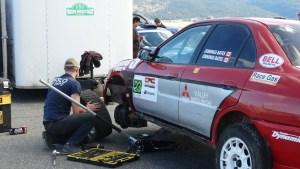 Rally Race Merritt. BC.