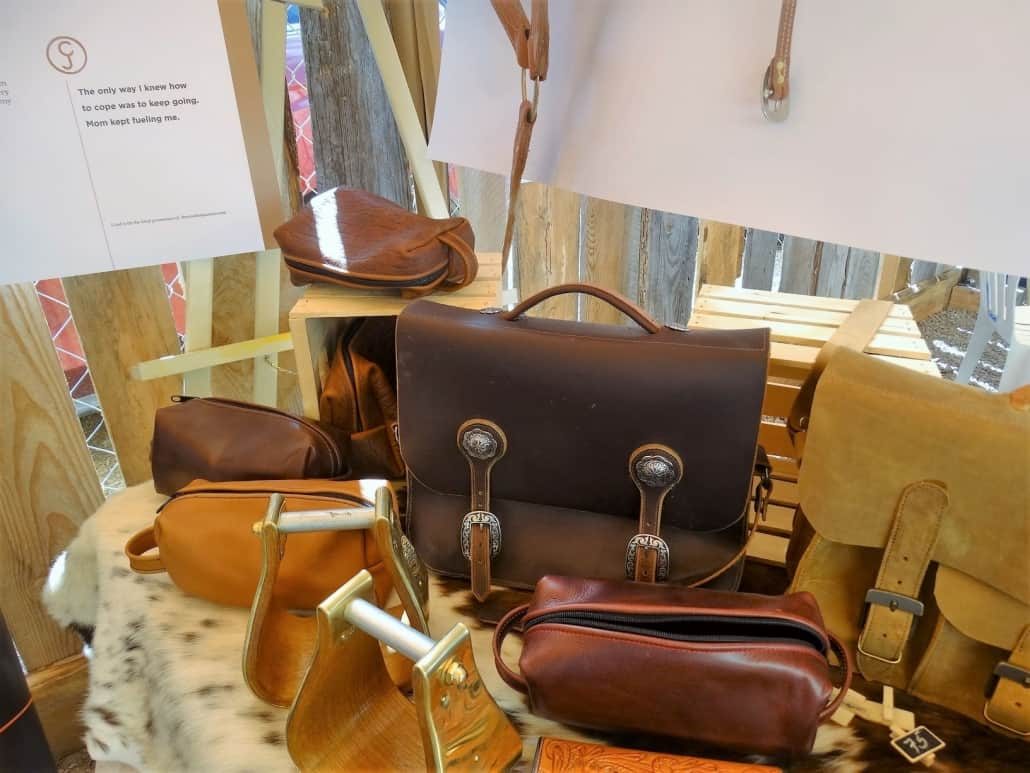 Don Loewen leather bags