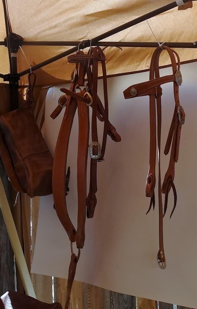 Horseback riding leathercraft
