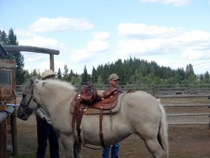 Horseback riding in Merritt BC