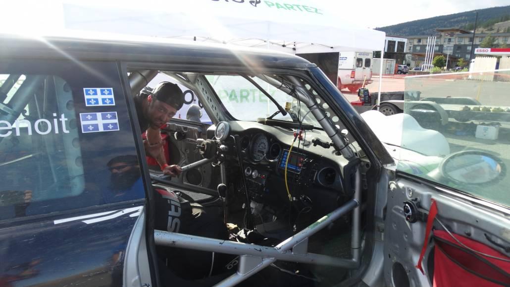 Philipe Benoit driver