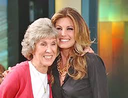 Martha Sharp with Faith Hill