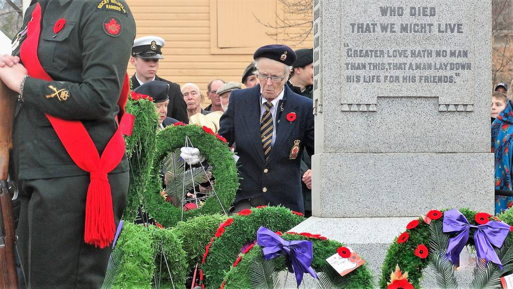 Remembrance Day Merritt BC.