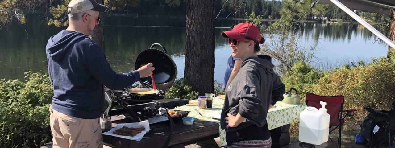 Camping in Merritt BC