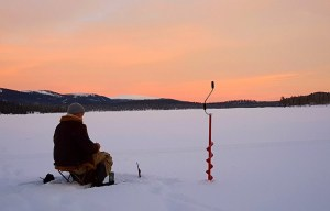 merritt ice fishing