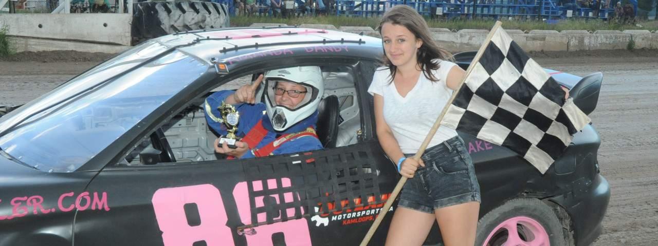 Merritt Speedway - #88  Amanda Dandy  4 cyl bomber