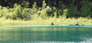 Kayaking in Merritt, British Columbia