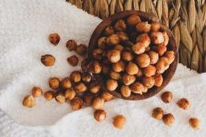 Roasted Chick Peas school snack ideas