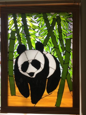 Panda-Twin Willows Glass Arts