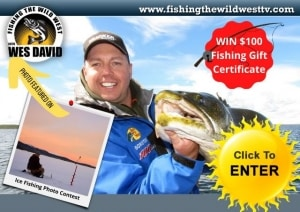 Ice Fishing Contest - Wes David