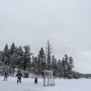 Outdoor Hockey Logan Lake