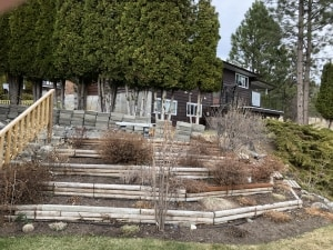 Wood Terrace Garden